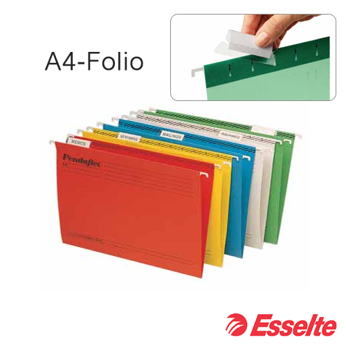 A4-folio hangmappen Esselte (50 stuks)