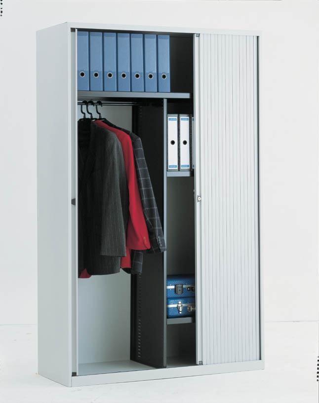 Garderobe Roldeurkast Bisley 120cm breed