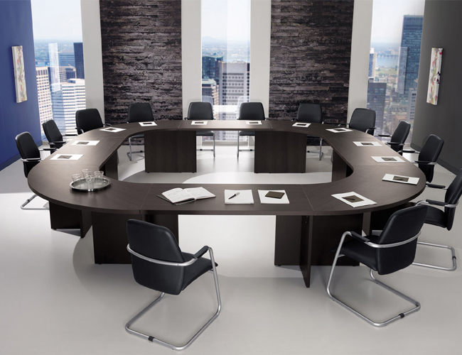 Grote vergadertafel Modulo