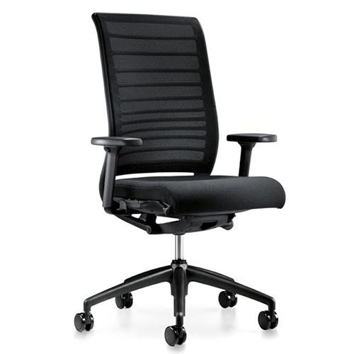 Interstuhl Hero Black bureaustoel