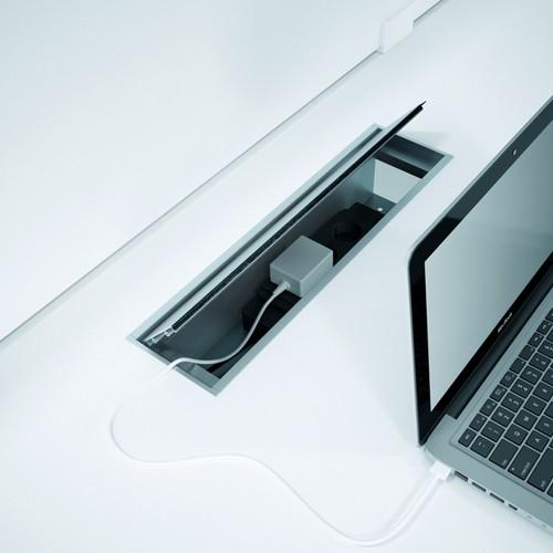 Fliptop kabeldoorvoer Exclusive
