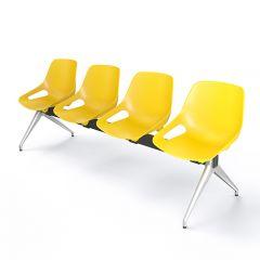 Wachtbank Dex 3-zits met tafelblad