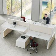 Max Cabinet range zit sta bureaus